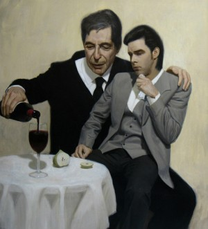The-Influence.-Leonard-Cohen-consoles-Nick-Cave-300x331