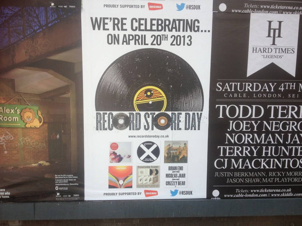 RSD poster London