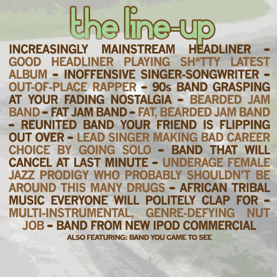 festival_line-up_template