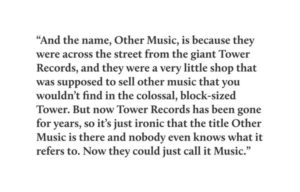 other music origin